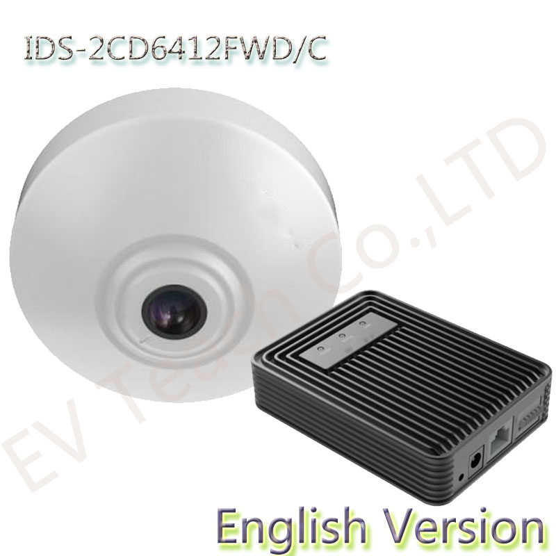 IDS-2CD6412FWD/C English version PEOPLE COUNTING 1.3MP Intelligent Network cctv Camera real-time people entering/exiting data(China (Mainland))