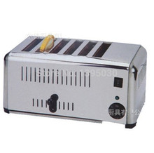 Free Shipping By DHL 1PC EST-6 Household Automatic Stainless Steel of 6 Slice Toaster Bread Machine Home Appliance