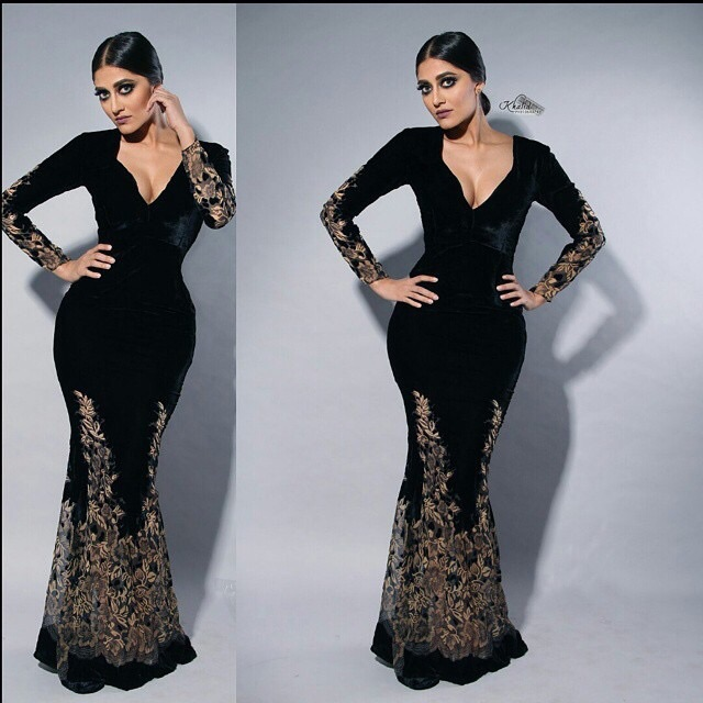 Real Sample Vestidos De Renda Custom made Sweetheart Neck With A Deep V Sheer Inlay A Line Prom Dress Plus Size Evening Gown(China (Mainland))