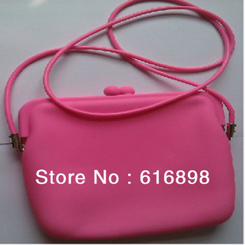 Factory Wholesale Price Free Shipping Rubber Silicone Cosmetic Makeup Bag Coin Purses Wallets Cellphone Case