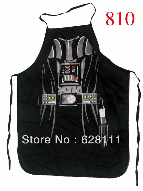"Newest Novelty cooking kitchen apron Black Knight Darth Vader unisex adult DINNER PARTy Product 22""*28"" free shipping"