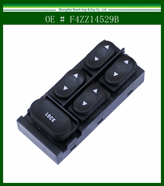 NEW Front Master Window Control Switch For Ford Mustang Escort Tracer F4ZZ 14529-B F4ZZ14529B(China (Mainland))