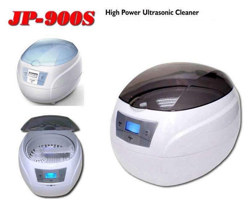 JP-900s 750ml 50W Mini Glasses Watch Jewelry CD Digital Ultrasonic Cleaner Bath(China (Mainland))