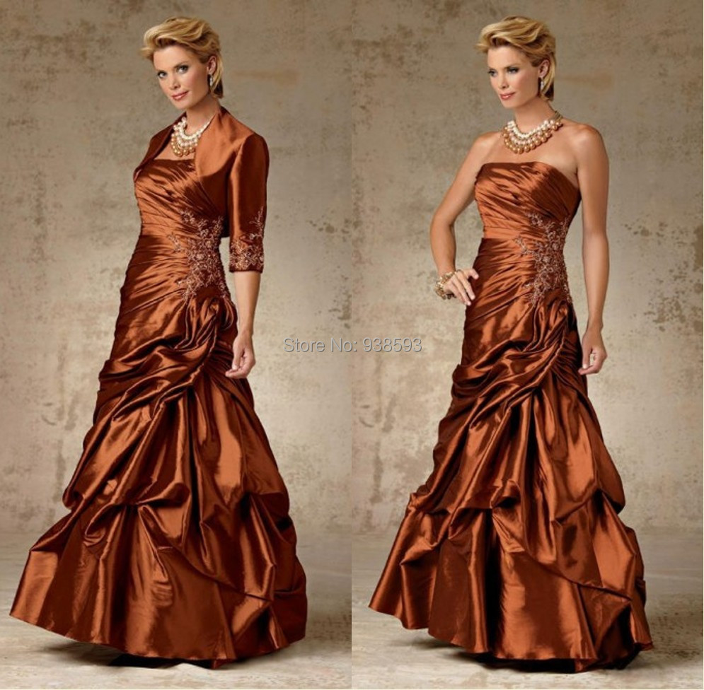 Western country a line mother of the bride dresses with for Western wedding mother of the bride dresses