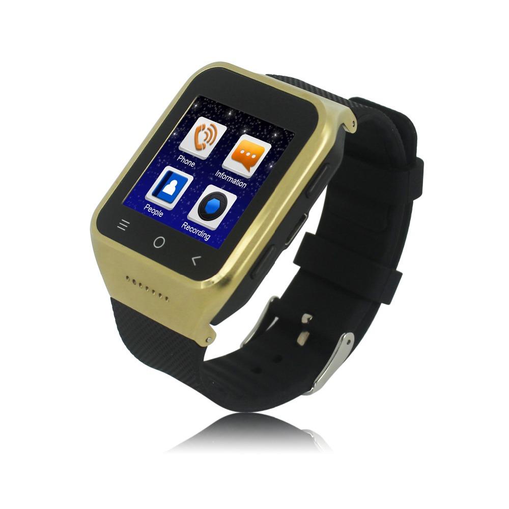 Original ZGPAX S8 Smart Sport watch phone capacitve screen MTK6572 android 4.4 Dual Core RAM 512MB+ROM 8GB 3G GPS WiFi(Hong Kong)