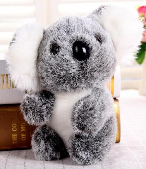 New Stuffed Plush Animals Koala Bear Doll Bear 2017 Cartoon Baby Pet pelucia urso Toys super size 20cm height free ship mty405(China (Mainland))