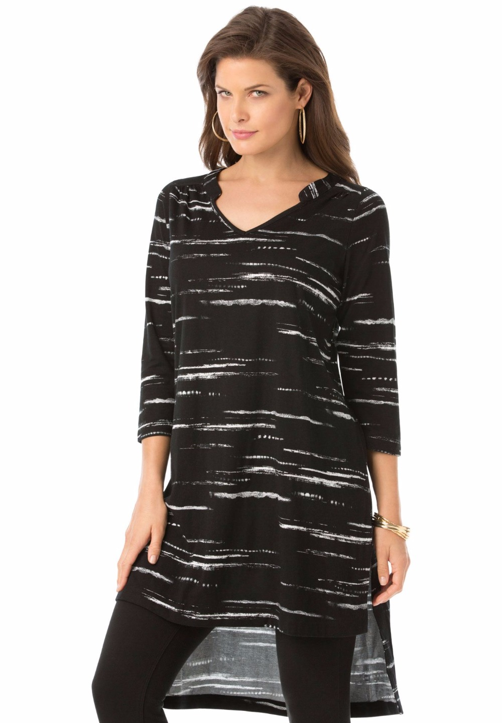 Overstock uses cookies to ensure you get the best experience on our site. If you continue on our site, you consent to the use of such cookies. Learn more. OK Tops Simply Ravishing Women's Scoop Long Sleeve Pleated Flare Blouse Top Tunic Shirt (Size: S-5X) 28 Reviews.