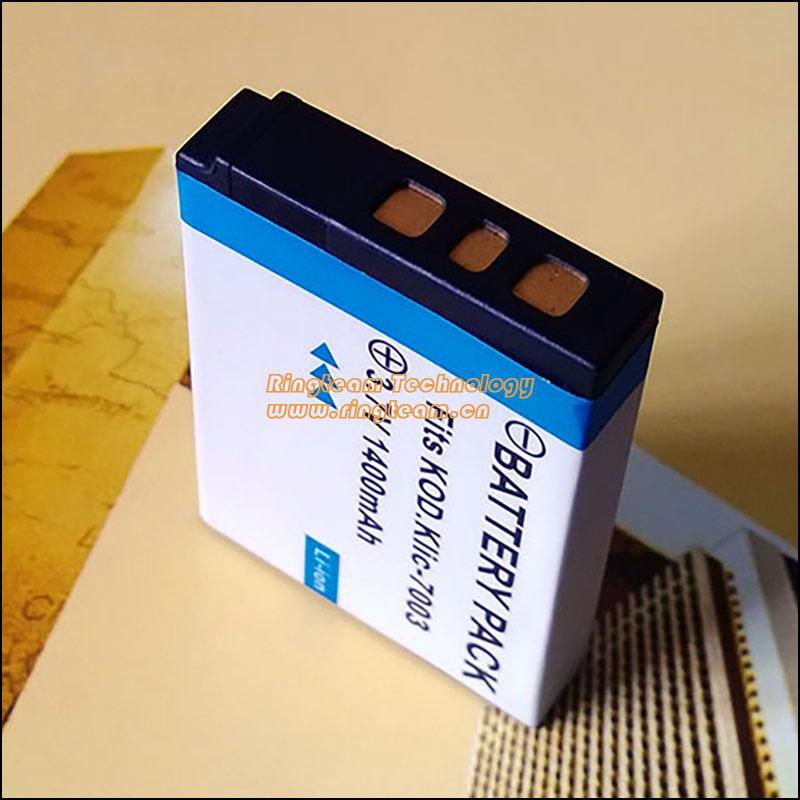 Replace Kodak K7003, KLIC7003, KLIC-7003 Digital Camera Battery Fit Kodak Easyshare M380 M381 V803 V1003 Z950(China (Mainland))