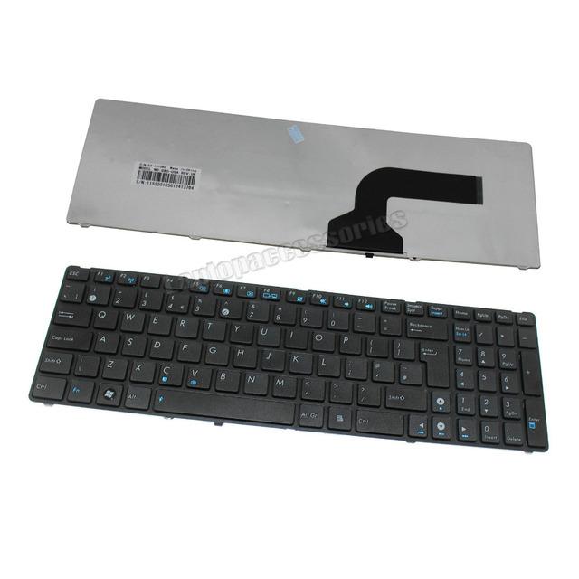 New Laptop Keyboard for ASUS K53 K53TA K53BY K53S K53U K53Z Keyboard UK Black Wholesale (K1516)