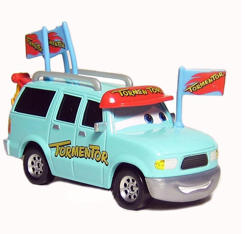 Original Pixar Cars 2 Toys Car Diecast Metal Car Tormentor's Biggest Fan for Children Kids Gift(China (Mainland))