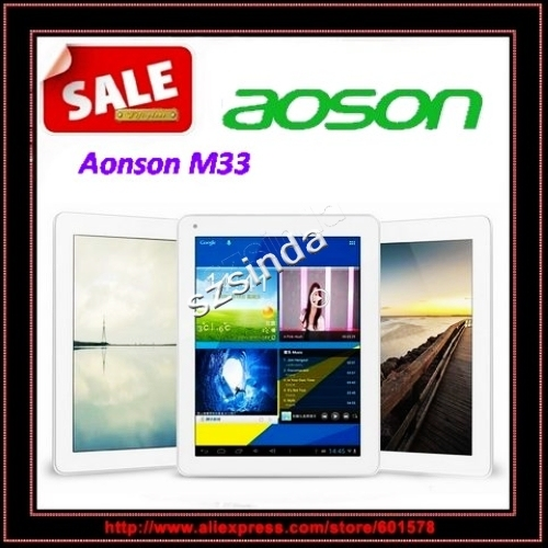 Aoson M33  RK3188 Quad Core Android 4.1 9.7inch Retina Screen 2048x1536 2GB RAM 16GB HDMI Tablet Pc / Anna