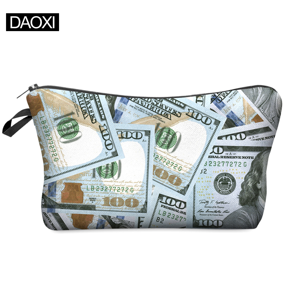 Women Cosmetic Bag 2016 Hot-selling Fashion Brand 3D Printing H12<br><br>Aliexpress