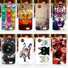 HOT ! FOR Lenovo A369 A369i A308t A318t Case Cover, Fashion Painted Cell Phone Protective Back Case Cover FOR Lenovo A369 A369i