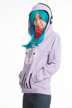Autumn NEW Sweatshirt Coat Anime MekakuCity Actors Kido Costume Coat Sweatshirt Hoody Jacket for Unisex(China (Mainland))