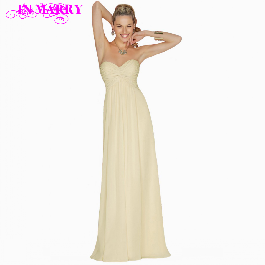 Popular yellow bridesmaid dresses 2016 buy cheap yellow bridesmaid 2016 a line sweetheart criss cross chiffon light yellow bridesmaid dress long party dress for ombrellifo Choice Image