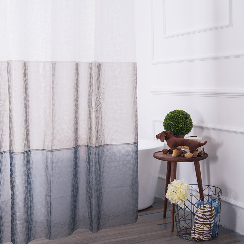 Aimjerry Free Shipping Cortina Ducha 3d Design Mildew-proof Peve Home Bathroom Decor Shower Curtain 180*180cm With Hooks(China (Mainland))