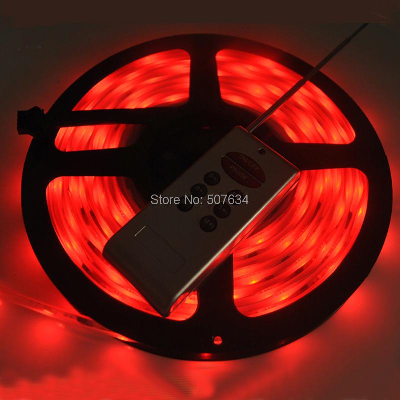 LED Lighting Strips DC12V SMD5050 luces tira de led waterproof IP67 LPD 6803 IC dream color rf controller rgb digital led strip(China (Mainland))
