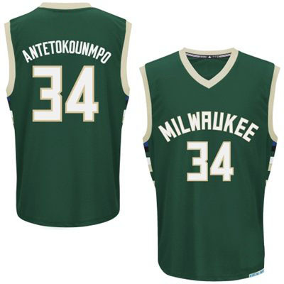 2015 new Super Star Milwaukee#12 Antetokounmpo Hunter white Green jersey custom Embroidery Logos Basketball sports jersey no tax(China (Mainland))
