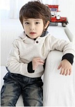 2015 New arrival Retail Unisex child hooded pullover outerwear hoodies kids Boys baby Girls' fleece sweatshirts handsome Cool(China (Mainland))