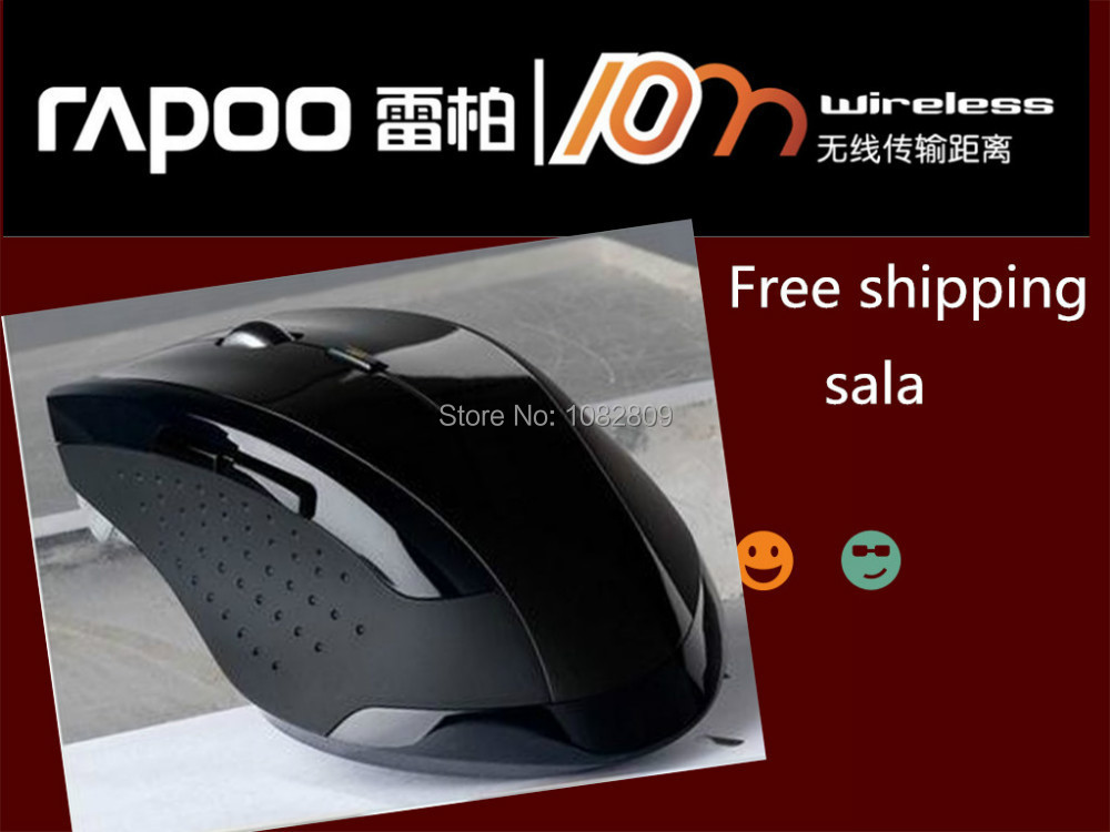 Upgraded version Rapoo 7300 2.4Ghz mini wireless optical For Laptop Desktop computer peripherals pc gaming mouse free shipping(China (Mainland))