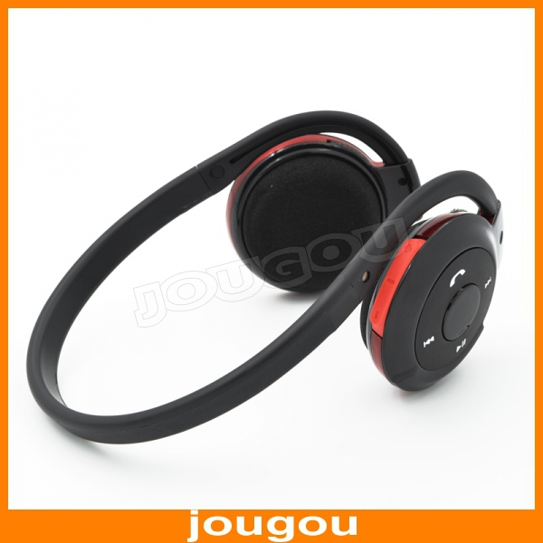 2015 New Sports Wireless Bluetooth Stereo Headset with FM TF Card MP3 Music Player(China (Mainland))