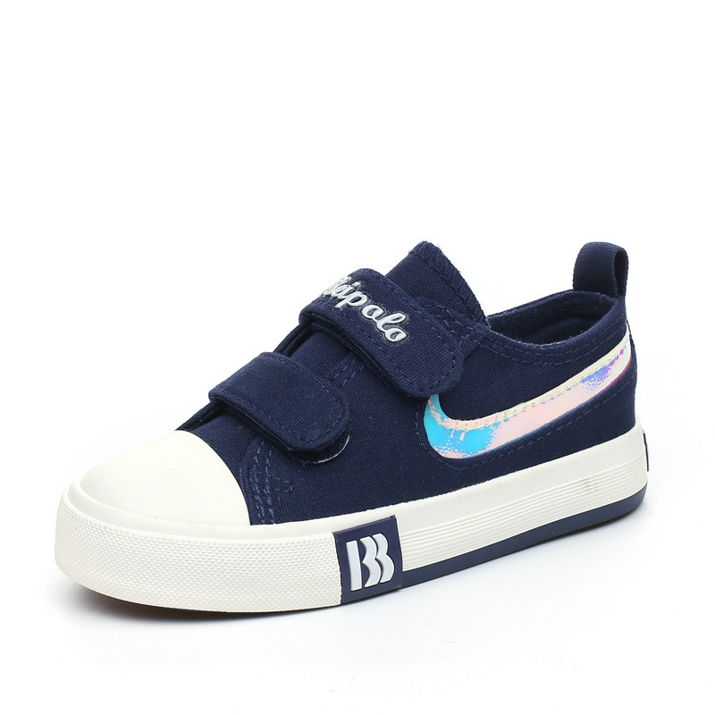 2016 Children New Canvas Shoes Kids Baby Low Help Flat Casual Shoe Boys Girls Students School Brand Sport Fashion Sneakers 0509d(China (Mainland))