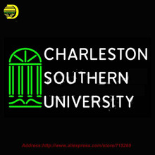 Neon Sign Charleston Southern University Glass Tube Handcrafted Recreation College Art Glass Light Lumineuse Iconic Sign 37x20(China (Mainland))