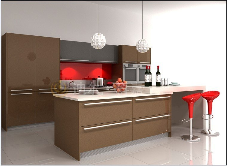 Lacquer Kitchen Cabinets In Kitchen Cabinets From Home