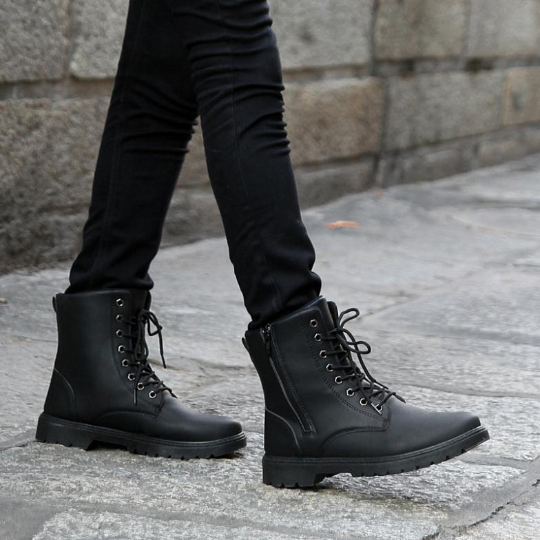 Men Combat Boots - Cr Boot