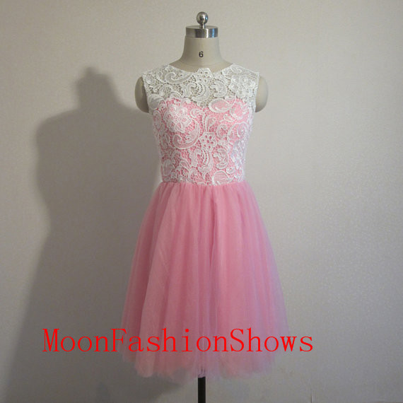 2015 pink Short Bridesmaid Dresses,homecoming dresses,Evening Dresses,Chiffon party Dresses - Moon Fashion Shows store