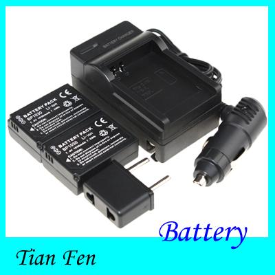 2pcs Battery+Charger BP1030 BP 1030 Rechargeable camera Battery for SAMSUNG NX200 NX210 NX1000(China (Mainland))