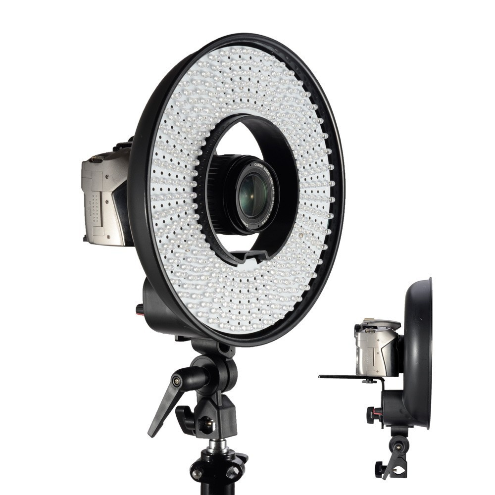 FALCON EYES 300 Ring LED Panel 5600K Lighting Video Film Continuous Light(China (Mainland))