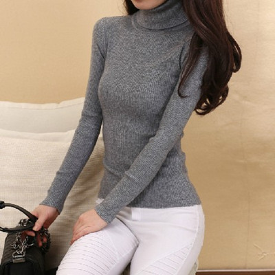 Cashmere Sweater Women Turtleneck Pullover Ladies sweaters Shirt Hot Sale Wool knitted sweater Female Warm Tops Sale Clothing(China (Mainland))