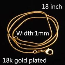 925 sterling silver Rắn Chain Mạ Tuyên Bố Vòng Cổ Trang Sức Phụ Nữ sterling bạc trang sức chokers phụ kiện thời trang(China)