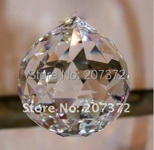 FREE SHIPPING+100% AAA Quality Guaranteed K9 MC Clear Crystal Faceted Balls--20mm, best selling<br><br>Aliexpress