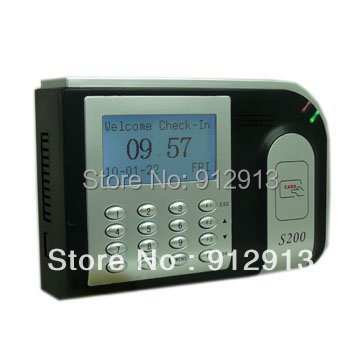 KO-S200 Hot Sale Long distance Card Time Attendance support RS232/485 backup power supply(China (Mainland))