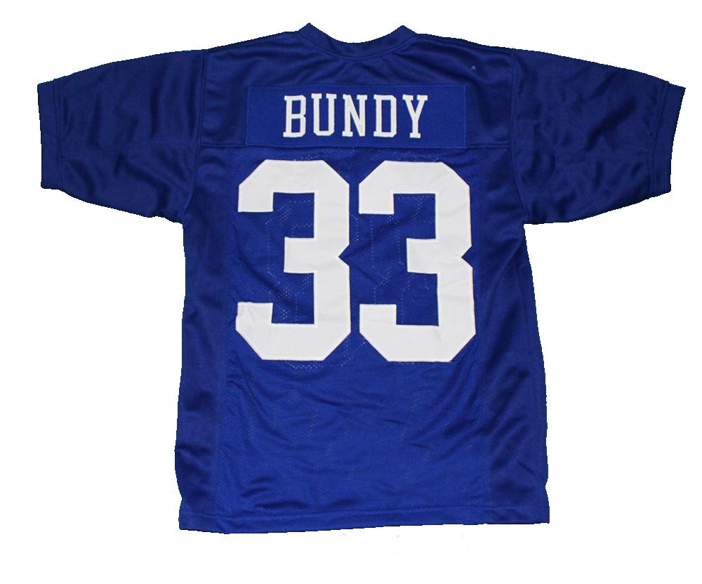 2017 Short Sleeve Bobby Boucher #9 The Waterboy Movie Jersey Forrest Gump #44 University of Alabama Football Jersey Al Bundy #33(China (Mainland))