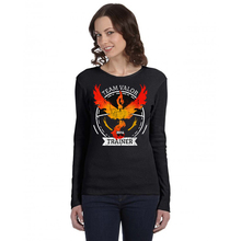 Pokemon Go Women 2016 New Fashion Character Team Mystic Team Instinct Team Valor Long Sleeve Round Neck T-Shirt Tees