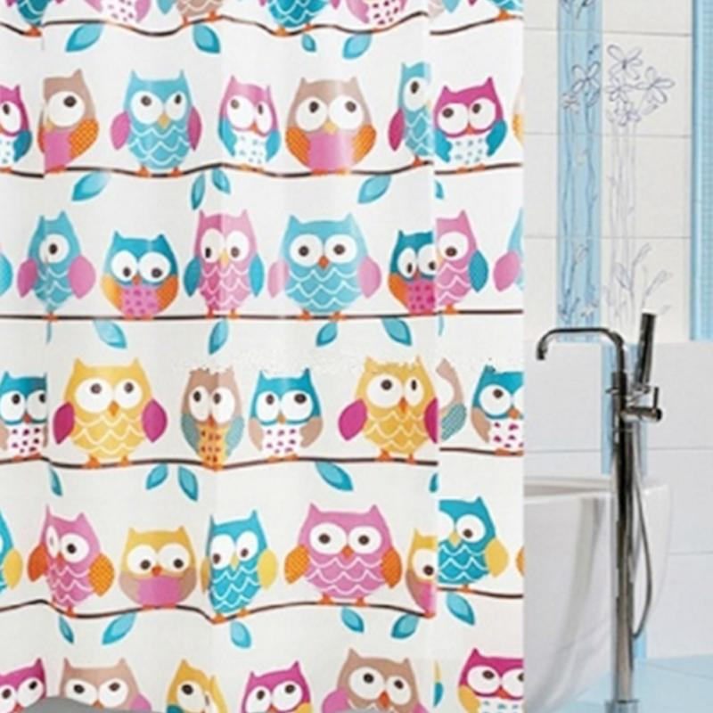 Cheap Shower Tent, Buy Quality Shower System Directly From China Shower  Curtain Pole Suppliers: New 70*70u0027u0027 Cute Owl Shower Curtains Bathroom  Products ...