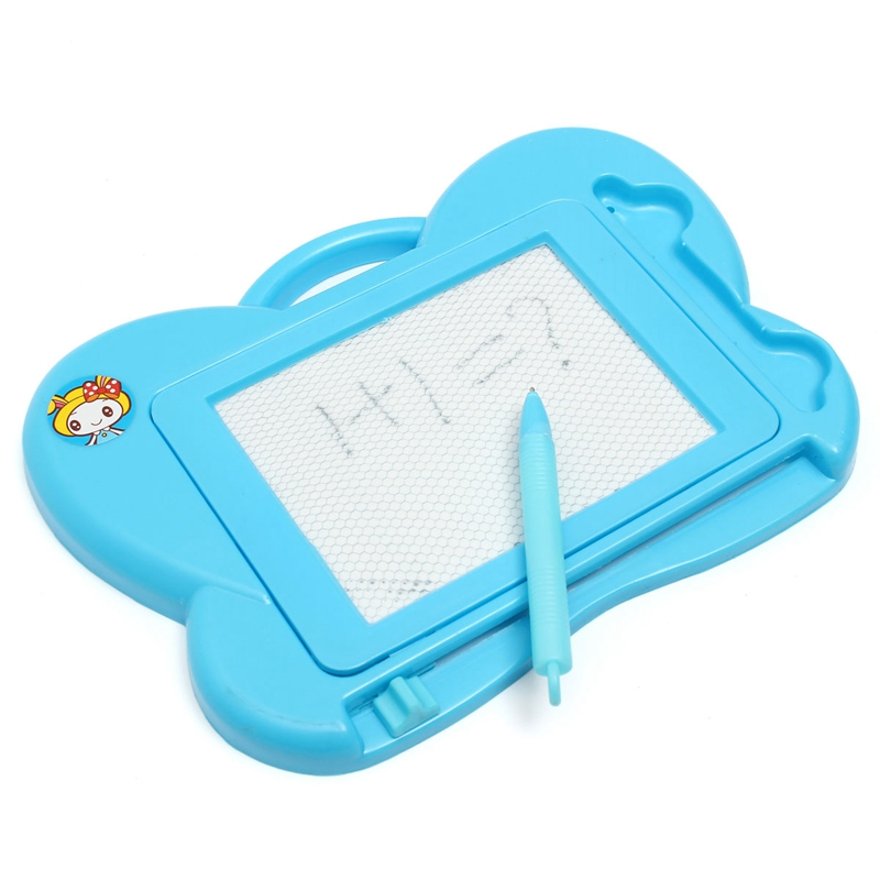Hot Sale 1PC Children Kid Magnetic Drawing Boards utterfly shape Educational Learning Paint Graffiti Board Tool with pen(China (Mainland))
