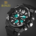 2016 Men Quartz Digital Watch Men Sports Watches Relogio Masculino BINZI S Shock Relojes LED Military