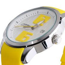 2016 SINOBI New Arrival Relogio Men Colorful Watch Males Rubber Band Relojes Quartz Wirstwatch 30M Waterproof Sports Watches