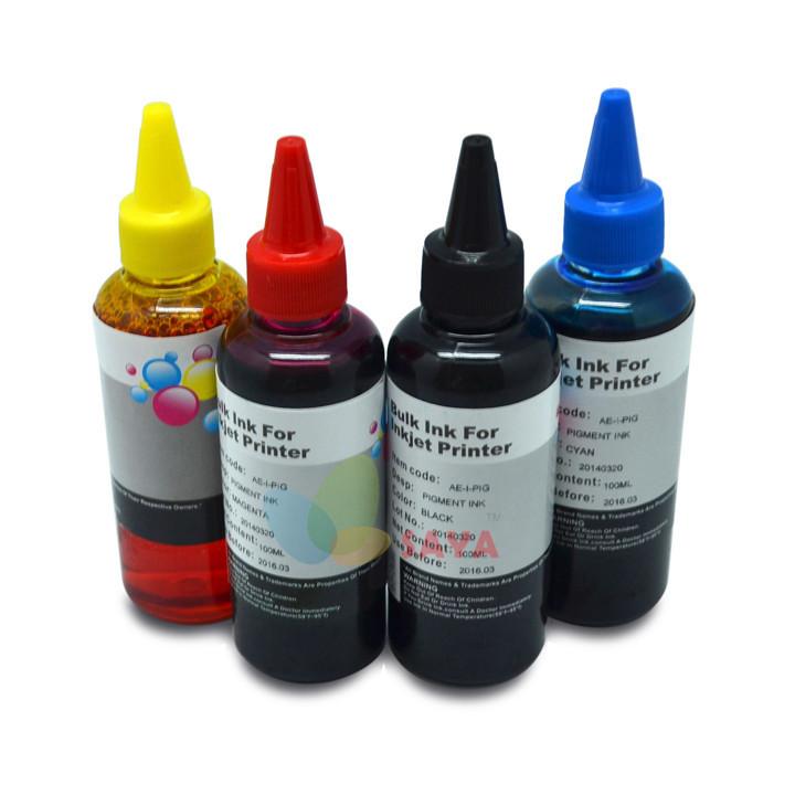 High Quality 400ml T1281 DYE INK For Epson Stylus S22 SX125 SX420W SX425W Office BX305F BX305FW SX130 Printers,UV photo DYE Ink