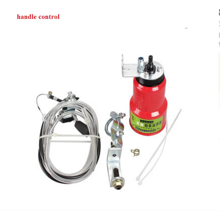 Hand Control Lube Lubrication Automatic Motorcycle Chain Oiler(China (Mainland))