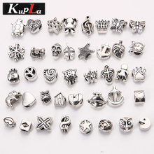 Buy Vintage Metal Mixed Beads fit Pandora Fashion DIY Accessories Big Hole Charms Beads Pandora Bracelets Jewelry Making C5866 for $4.87 in AliExpress store