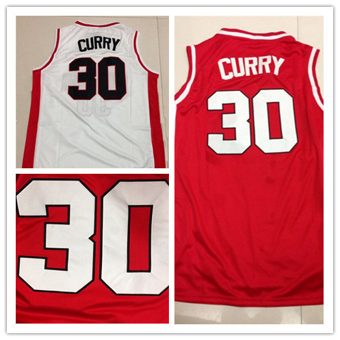 Steph Curry Davidson Jersey, Stitched Steph Curry Jersey NCAA Davidson Wildcats College Basketball Jersey, Stephen Curry Jersey(China (Mainland))