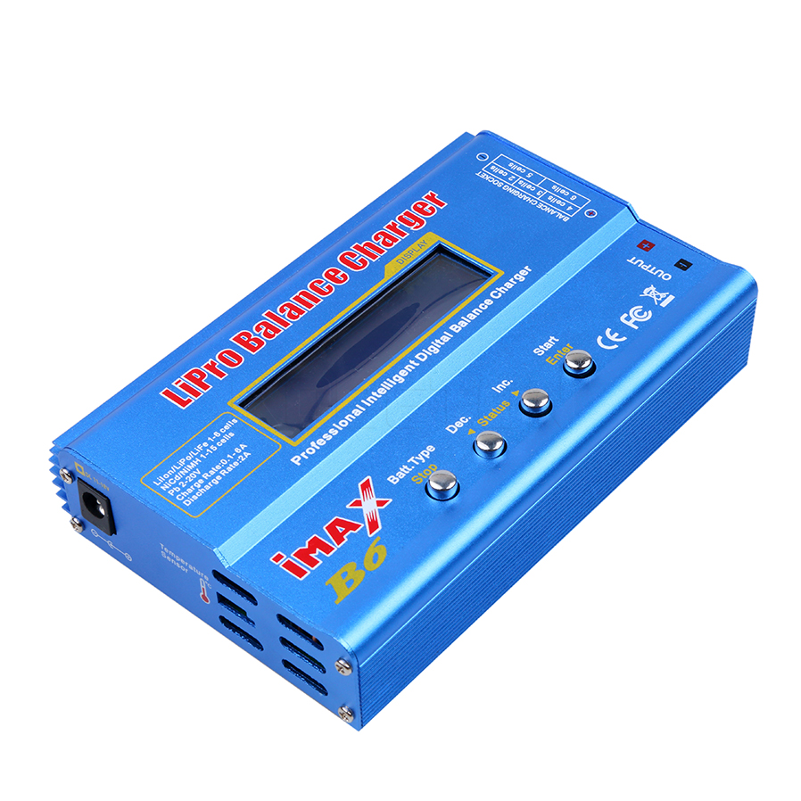 Hot 100% iMAX B6 Lipro NiMh Li-ion Ni-Cd RC Battery Balance Digital Charger Discharger High quality(China (Mainland))