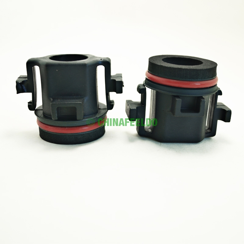 10pcs Car HID Xenon H7 Low Beam Bulbs Installation Socket Conversion Adapter For BMW E39 5-Series(Type4) J-1330(China (Mainland))