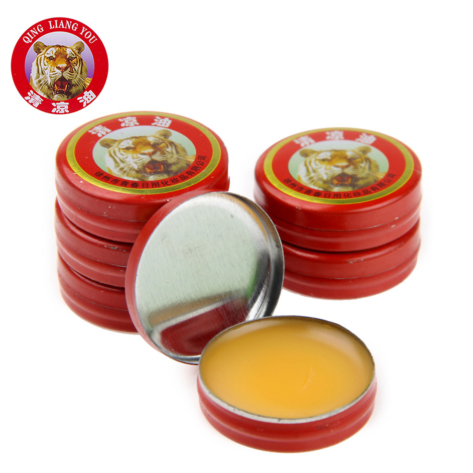 24 PCS/Box Classical Chinese Brand Tiger Balm Pain Relieving Tiger Balm Ointment Pure Natural Peppermint Essential Oil(China (Mainland))