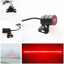 Newest Anti Collision Rear-end Car Laser Tail Fog Light Auto Brake Parking Lamp Rearing Auto Brake Warning Light car styling